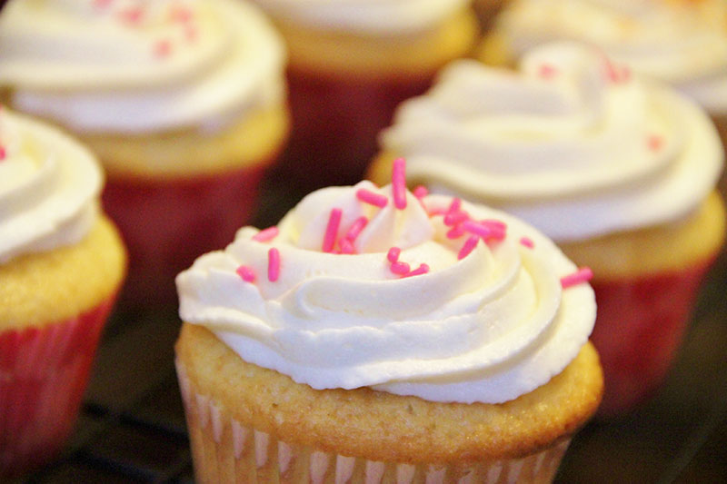 Recette Cup Cake Vanille