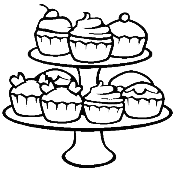 cupcake-coloriage-basic